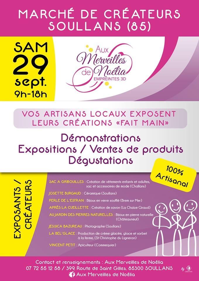 Affiche évènement Vendée