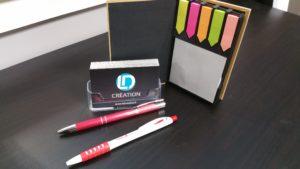 Crayons et blocs personnalisés Vendée