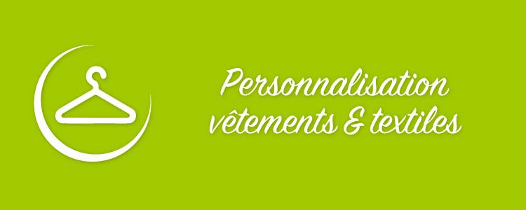 Personnalisation vêtements Vendée