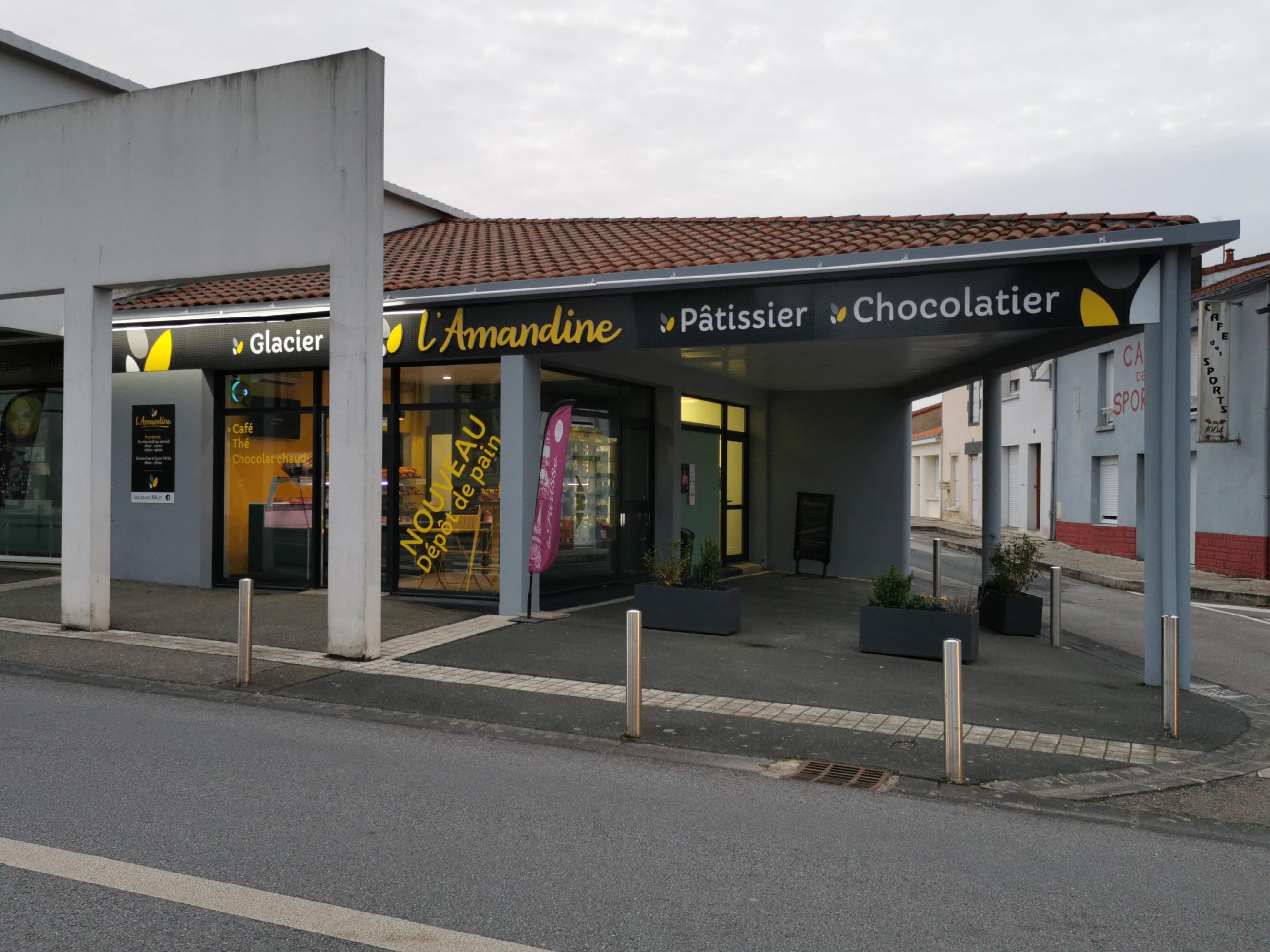 Enseigne rétro éclairée Vendée